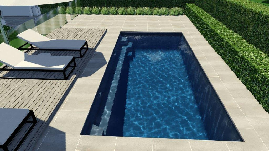 5.5m x 3.6m Horizon Pool